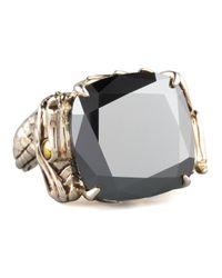 John Hardy | Metallic Naga Batu Ring Hematite | Lyst