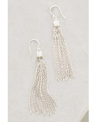 Satya Jewelry | Metallic Cubed Tassel Drops | Lyst