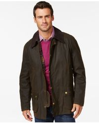 Barbour | Green Men's Ashby Wax Jacket for Men | Lyst