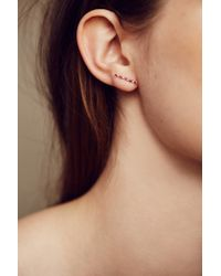 Ariel Gordon - Pink Horizon Earrings In 14k Gold - Lyst
