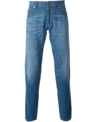 Giorgio Armani | Blue Regular Fit Jeans for Men | Lyst