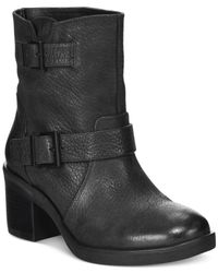 Kenneth Cole Reaction | Black Camden Runs Mid-shaft Booties | Lyst
