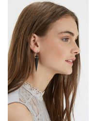 Oasis | Black Shard Drop Earring | Lyst
