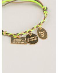 La Mome Bijou | Green Rope Woven Bracelet | Lyst