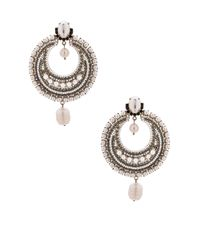 Givenchy - Metallic Pearl Statement Earrings - Lyst