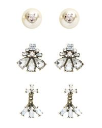 BaubleBar | Metallic 'Trend Trio - Play By Ear' Earring Gift Set - Multi (Nordstrom Exclusive) | Lyst
