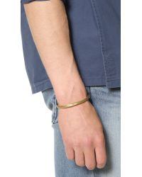 Cause and Effect - Metallic Brass Cuff for Men - Lyst