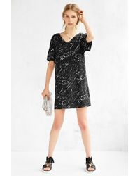 Just Female - Black Stone Dress - Lyst