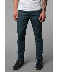 Urban Outfitters - Green Levis 510 Modern Essential 5pocket Pant for Men - Lyst