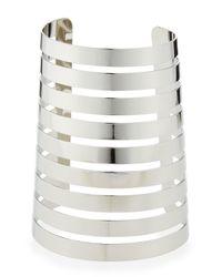 R.j. Graziano - Metallic Silver Gladiator Cuff - Lyst