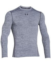 Under Armour | Black Men's Coldgear® Twist Long-sleeve T-shirt for Men | Lyst
