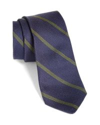 Todd Snyder | Blue Stripe Tie for Men | Lyst