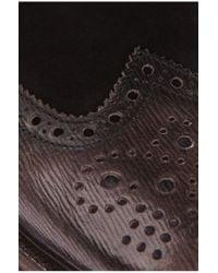 BOSS Orange - Black Half-high Lace-ups 'weekifor' In Cowhide for Men - Lyst