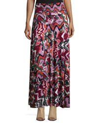 Rachel Pally | Multicolor Long Printed Full Skirt | Lyst