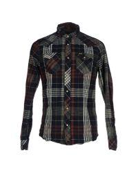 DIESEL - Blue Shirt for Men - Lyst