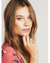 Free People - Metallic Radiation Ring - Lyst