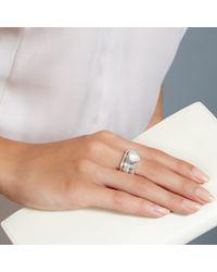 Astley Clarke | Metallic Moonstone Oval Ring | Lyst