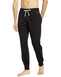 PUMA | Black Jogger Lounge Pants for Men | Lyst