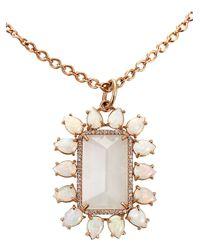 Irene Neuwirth | White Rainbow Moonstone Pendant Necklace | Lyst