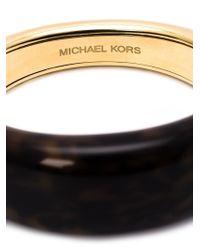 Michael Kors - Metallic Tortoise Bangle - Lyst