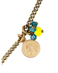 Isabel Marant   Blue Lucky Charm Necklace   Lyst