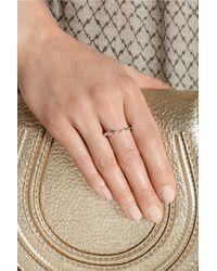 Iam By Ileana Makri - Pink Tiger Snake Rose Goldplated Sapphire Ring - Lyst