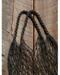 Free People - Blue Womens Vintage Indigo Net Bag - Lyst