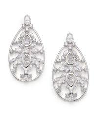 Adriana Orsini | Metallic Lavish Large Teardrop Earrings | Lyst