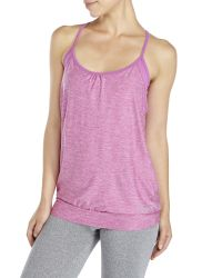 Bench - Purple Maliha Double-Layer Tank - Lyst