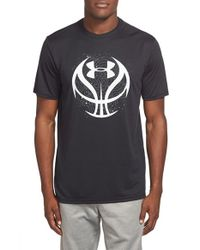 Under Armour - Black 'Future Icon' Graphic Performance T-Shirt for Men - Lyst