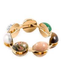 Chloé | Metallic 'ellie' Bracelet | Lyst