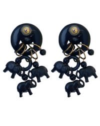 Rarities | Blue Elephant Drop Earrings | Lyst