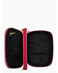 kate spade new york - Pink Classic Nylon Travel Jewelry Case - Lyst