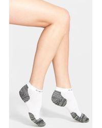 Calvin Klein - Black Padded Terry Running Ankle Socks - Lyst