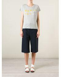 KENZO | Gray 'paris ' T-shirt | Lyst