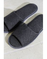 Urban Outfitters   Gray Uo Everyday Slipper   Lyst