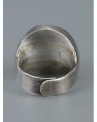 Carol Christian Poell - Gray Compass Ring for Men - Lyst