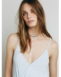 Free People | Blue We The Free Big Sur Tank | Lyst
