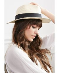 Forever 21 - Natural Classic Panama Hat - Lyst