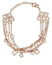 Dinny Hall - Metallic Rose Gold Vermeil Talitha Bracelet - Lyst