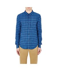 Band of Outsiders | Multicolor Men's Checked Shirt for Men | Lyst