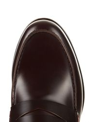 Lanvin | Purple High-shine Leather Loafers for Men | Lyst