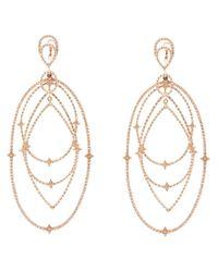 Loree Rodkin - Metallic 'michelle' Diamond Chandelier Earrings - Lyst