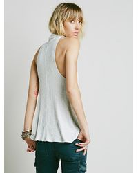 Free People - Natural Embellished Slip - Lyst