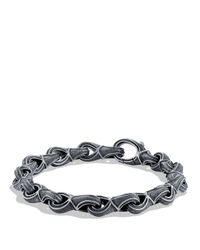 David Yurman - Metallic Armory Figure-eight Large Link Bracelet for Men - Lyst