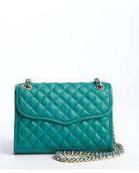 Rebecca Minkoff - Blue Azure Quilted Leather Mini Affair Shoulder Bag - Lyst