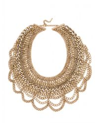 BaubleBar | Metallic Courtney Bib-Gold | Lyst