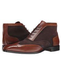 Massimo Matteo - Black 5-eye Wing Ankle Boot for Men - Lyst
