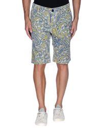 Rrd - Blue Bermuda Shorts for Men - Lyst
