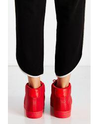 Adidas - Red Mono Pro Model Sneaker - Lyst